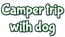 Camper trip with dog